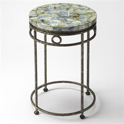 Butler Specialty Metalworks Sadye End Table in Fossil Stone