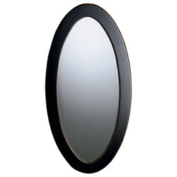 Butler Specialty Artists Originals Mozart Oval Mirror in Cafe Noir