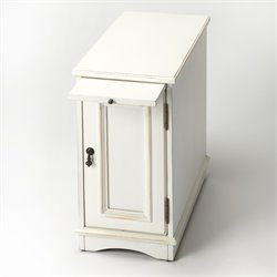 Butler Specialty Masterpiece Harling End Table in Cottage White