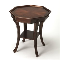 Butler Specialty Plantation Cherry Kingston End Table in Dark Brown