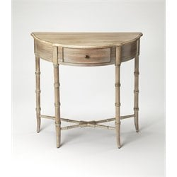Masterpiece Skilling Demilune Console Table