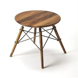 Butler Specialty Industrial Chic Bern End Table in Industrial Chic