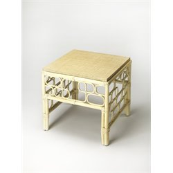 Butler Specialty Designers Edge Althea End Table in Rattan