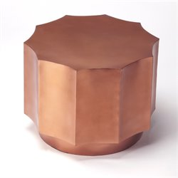 Butler Specialty Metalworks Daud End Table in Copper