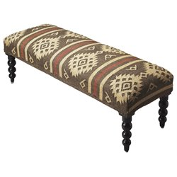 Butler Specialty Accent Seating Upholstered Bench in Taos