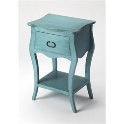 Butler Specialty Masterpiece 1 Drawer Nightstand in Rustic Blue