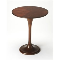 Butler Specialty Butler Loft Round Pedestal Table in Dark Brown