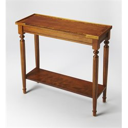 Butler Specialty Masterpiece Console Table in Olive Ash Burl