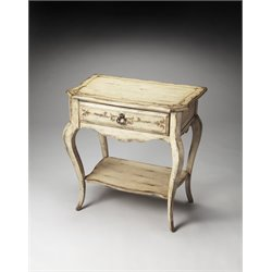 Butler Specialty Artists Originals Accent Table in Gilted Cream
