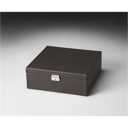 Butler Specialty Hors Doeuvres Storage Case in Dark Brown