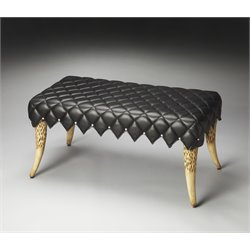 Butler Specialty Designers Edge Bench in Black