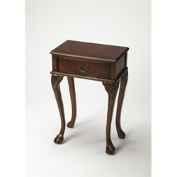 Butler Specialty Plantation Cherry Accent Table in Dark Brown