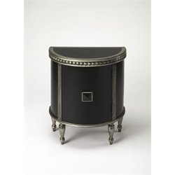 Butler Specialty Connoisseurs Demilune Accent Chest in Black