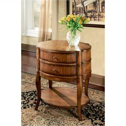 Butler Specialty Transitions Oval Wood End Table