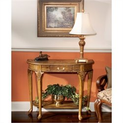 Butler Specialty Vintage Oak Console Table