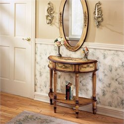 Butler Artists' Originals Demilune Console Table in Light