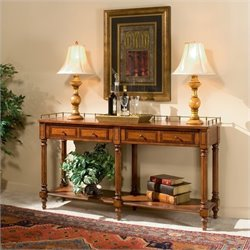 Butler Specialty Plantation Cherry Sofa Console Table