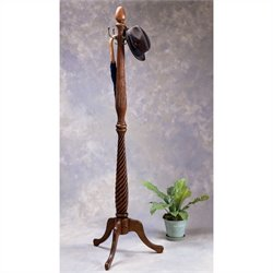 Butler Specialty Wood Costumer Coat Rack in Cherry