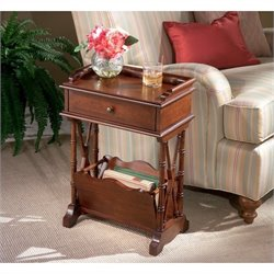 Butler Specialty Plantation Cherry Rectangular Wood Martini Table