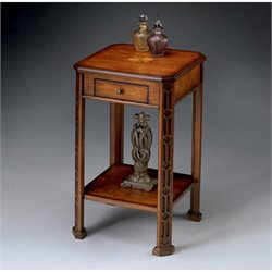 Butler Specialty Accent Table in Olive Ash Burl Finish