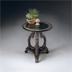 Butler Specialty Round Accent Table in Heritage Finish