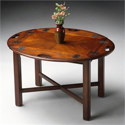 Butler Specialty Butler Table in Plantation Cherry Finish