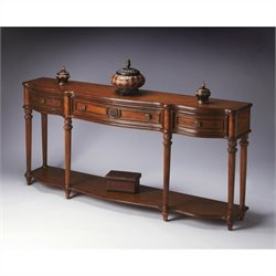 Butler Specialty Console Table in Vintage Oak