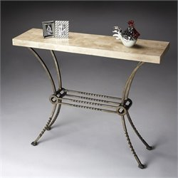 Butler Specialty Console Table in Metalworks