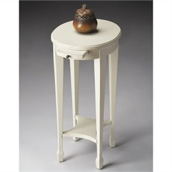 Butler Specialty Accent Table in Cottage White Finish