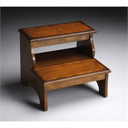 Butler Specialty Step Stool in Olive Ash Burl Finish