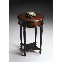 Butler Specialty Accent Table in Café Noir Finish