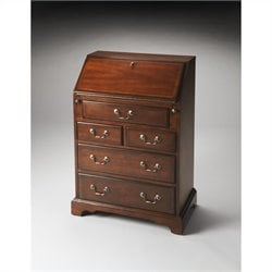 Butler Specialty Secretary in Plantation Cherry Finish