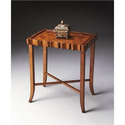 Butler Specialty Tea Table in Olive Ash Burl