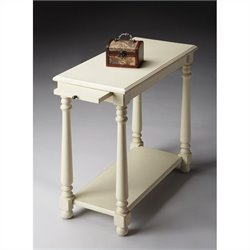 Butler Specialty Chairside Table in Cottage White