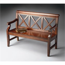 Butler Specialty Bench in Plantation Cherry