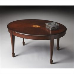 Butler Specialty Cocktail Table in Plantation Cherry