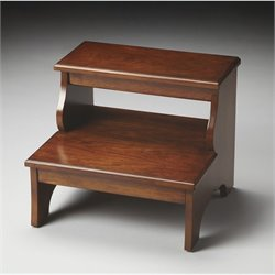 Butler Specialty Masterpiece Step Stool in Chestnut Burl