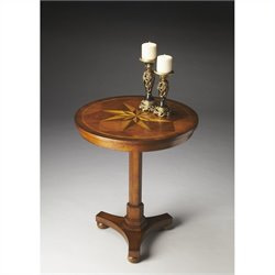 Butler Specialty Masterpiece Accent Table in Antique Cherry