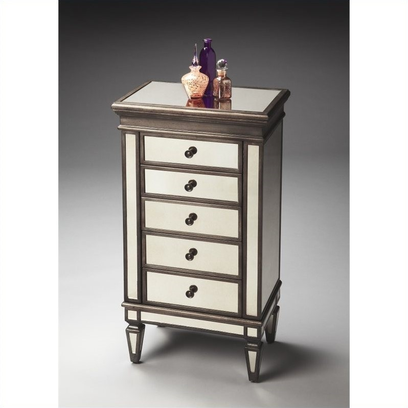 Butler Specialty Masterpiece Jewelry Chest in Mirror