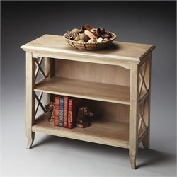 Butler Specialty Masterpiece Newport Low Bookcase in Driftwood