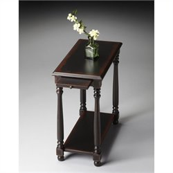 Butler Specialty Masterpiece Chairside Table in Midnight Rose