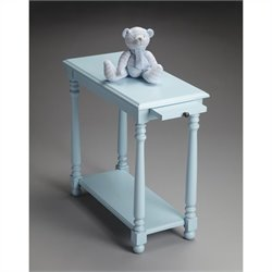 Butler Specialty Masterpiece Chairside Table in Baby Blue