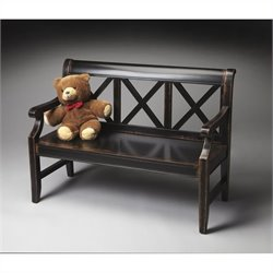 Butler Specialty Masterpiece Bench in Midnight Rose