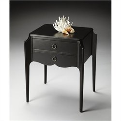 Butler Specialty Loft Accent Table in Black Licorice
