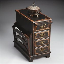 Butler Specialty Masterpiece Magazine Table in Midnight Rose