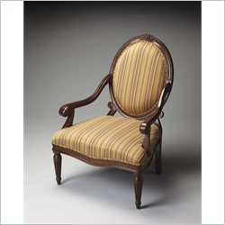 Butler Specialty Rookwood Accent Chair in Plantation Cherry