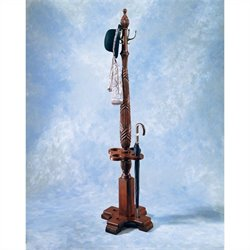 Butler Specialty Plantation Cherry Coat Rack with Umbrella Storage