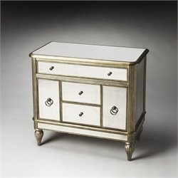 Butler Specialty Masterpiece Justine Mirrored Console Accent Chest