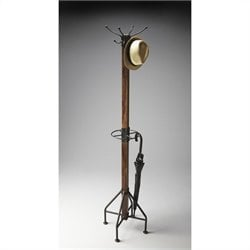 Butler Specialty Industrial Chic Mountain Lodge Costumer Coat Rack