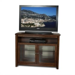 50 Inch Wide TV Stand in Walnut Finish